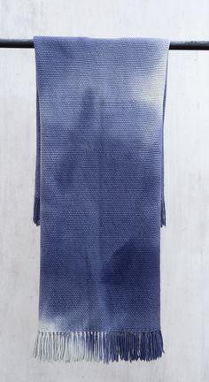 Blanket Sofa Throw Handwoven wool blanket by TexturableDecor