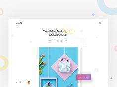 Moodboard website responsive animation by Divan Raj