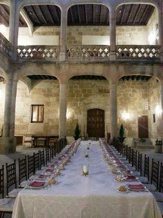 Castillo del Buen Amor - Banquete de Boda - Claustro