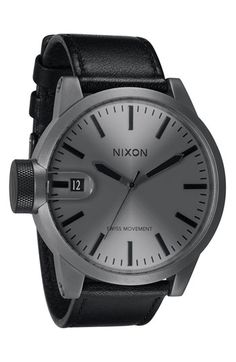 Nixon watch.   for the husband.