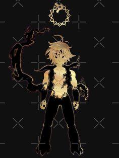 'Meliodas - Seven Deadly Sins' T-Shirt by Blason Hacker Wallpaper, Black Phone Wallpaper, Marvel Wallpaper, Manga Anime, Otaku Anime, Anime Art, Seven Deadly Sins Anime, 7 Deadly Sins, Cool Anime Wallpapers