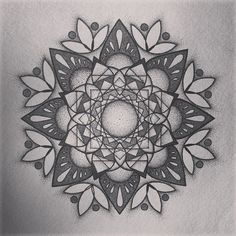 Mandala Designs, zmaash: #finished! So many #dots, such a small...