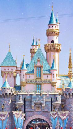 Disneyland's Sleeping Beauty castle! Finally going back in a month!!!