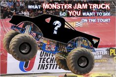 Advance Auto Parts Monster Jam® is all about the fans, and we want to know what new Monster Jam truck ideas YOU have. All you have to do is pick what theme ...