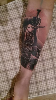 Witcher Tattoo Ink