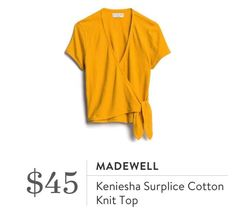 Stitch Fix, Madewell, V Neck, Knitting, Cotton, Tops, Women, Ideas, Fashion
