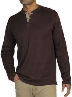 ExOfficio Men's Isoclime Thermal Henley Baroque/Tough S