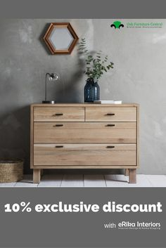 I teamed up with Oak Furniture Centre so you can get these really cool Scandi pieces into your home with an awesome 10% discount - just click through to my blog and look for the GET The CODE link in the sidebar. Happy shopping!