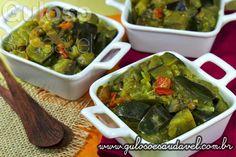 Quem aprecia culinária indiana? Os fãs certamente vão amar esta receita, Berinjela ao Curry!  #Receita aqui: http://www.gulosoesaudavel.com.br/2013/06/18/berinjela-curry/