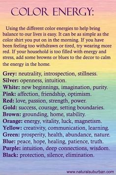 Magick colors
