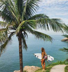 Surf girl... More