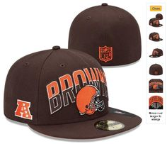 NFL Draft 59FIFTY Fitted Cleveland Browns Hats 6970|only US$8.90
