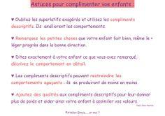 Astuces pour complimenter vos enfants  www.tdah.be