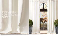 Catha très très chic!: Inspire-se cortinas! Restoration hardware
