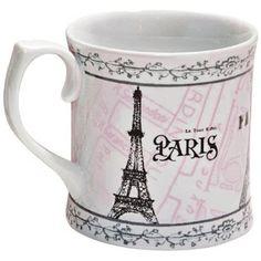 Vintage Paris Mug