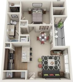 Stylish studio apartment floor plans ideas 26 The purchase price reach of the Apartment was amazing. An individual should not rush apartment searching. Men and women who […] Studio Apartment Floor Plans, Apartment Plans, 2 Bedroom Apartment Floor Plan, One Bedroom House Plans, Studio Floor Plans, Sims House Plans, House Floor Plans, Apartment Layout, Apartment Design