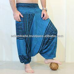 Mans Mixed Pattern Harem Pants Wholesale $4.80~$6.98 Festival Clothing, Festival Outfits, Plus Size Pants, Pattern Mixing, Flare Pants, Pants For Women, Trousers, Jeans, Clothes