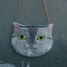 pet's Wool Felt bag