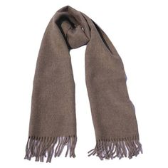 A classic, warm, 100% alpaca scarf in brown with a touch of grey. These stylish scarves are incredibly soft and comfortable all year round. #Fairtrade, #animalfriendly and #hypoallergenic. #alpacawool #scarf #scarves #fashion #style #soft #quality