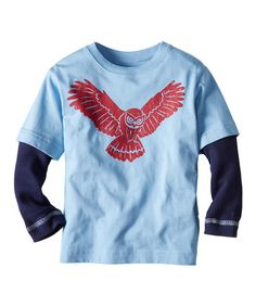 Take a look at this Blue Hills Snow Critter Layered Tee - Infant, Toddler & Boys by Hanna Andersson on #zulily today!