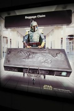 Ad for 2009 Star Wars Weekends at Orlando airport.