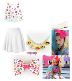 """Jojo Siwa- Emoji outfit"" by meri-mickelson ❤ liked on Polyvore featuring SIWA and Soludos"