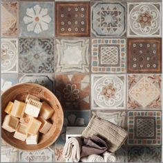 Memory Mood 200x200mm. Individual patterns supplied. Suitable floors or walls