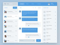 HiChat is a clean and simple messaging application that has a flat ui design…