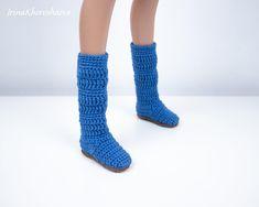 Crochet shoes for Smart Doll Dd BJD 1/3 60-65 cm Crochet   Etsy