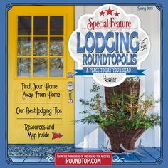 Get your best tips for finding great lodging in the Round Top, Texas area.