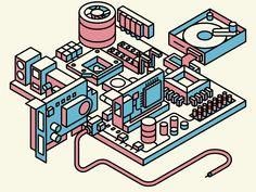 Motherboardin' by Fabricio Rosa Marques