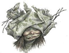 """Trolls"" Exhibition Art | Brian Froud"