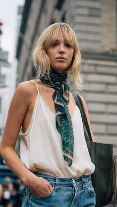 TOMMY TON, STYLEDOTTON, FASHION WEEK, NEW YORK, NYFW, STREET STYLE PHOTOGRAPHY silk scarf