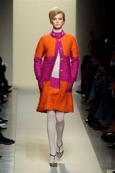 pink + orange bottega veneta.