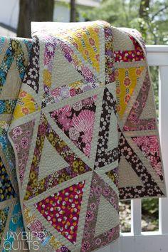 Chopsticks quilt pattern by Jaybird
