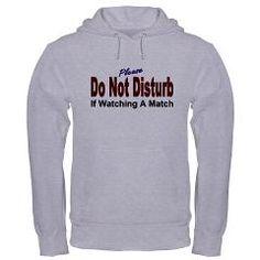 Do Not Disturb The Wrestlers Mom Hooded Sweatshirt. WANT THIS!!! @Melanie Bauer Bauer Bauer Bauer Landry
