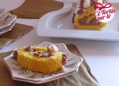 Ecco la #merenda perfetta per i momenti speciali: Rotolo con crema al mascarpone e cioccolato.  Scopri la #ricetta...