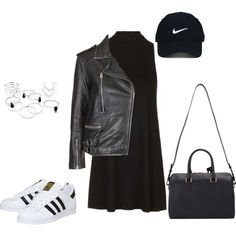 Untitled #229 by charlotte-down on Polyvore featuring polyvore, fashion, style, Topshop, adidas, Yves Saint Laurent, Nike Golf and clothing