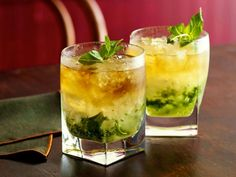 Get Alton Brown's Mint Julep Recipe from Food Network