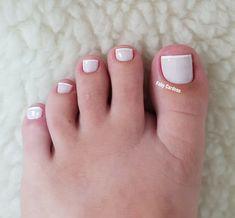 Unhas dos pés com cores e eamaltes perfeitos9.3 Manicure Y Pedicure, Pedicures, Nail Polish, Nail Art, Nails, Beauty, Design, Instagram, Pretty Nails