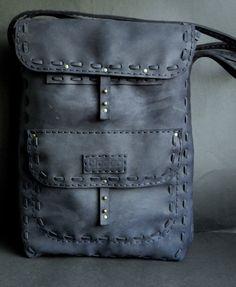 Сумка из натуральной кожи. Плетение #bag #ticoto