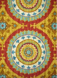 HGTV Home Print Fabric 54 Bespoke BlossomsSunset Hgtv Bespoke