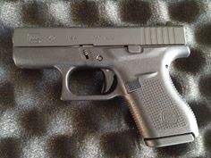 Glock If you want a this is a no brainier. If you fire it you will fall in love with it. Puts the S&W Bodyguard to shame. Concealed Carry Men, Conceal Carry, Glock 42, Glock Guns, Smith & Wesson Bodyguard, 380 Acp, Home Protection, Outdoor Tools, Assault Rifle