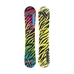 Technine Jerk It Rocker Women's Snowboard #techninesnowboards