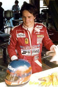Gilles Villeneuve - Kyalami 1978 - © Brian Spurr