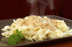 Gyors tejszínes-gombás tészta - Recept | Femina Mashed Potatoes, Macaroni And Cheese, Recipies, Soup, Yummy Food, Dishes, Ethnic Recipes, Sauces, Tomato Paste