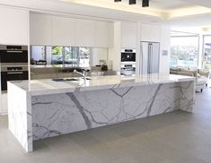 The Difference Between Carrara & Calacatta Marble – Classic Ceramics ...