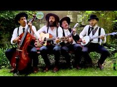 The Dead South - Travellin' Man at About Songs Gardening Session - YouTube