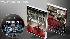 Triplo 9 - Dvd 1 - ➨ Vitrine - Galeria De Capas - MundoNet | Capas & Labels Customizados