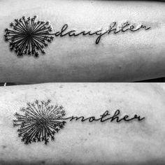 23 Popular Mother - Daughter Tattoos: #12. MOTHER DAUGHTER TATTOOS; #tattoos